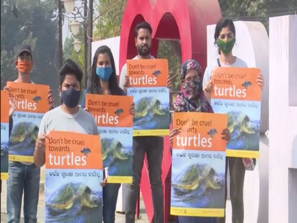 PFA organises campaign for conservation of Olive Ridley turtles in Bhubaneswar