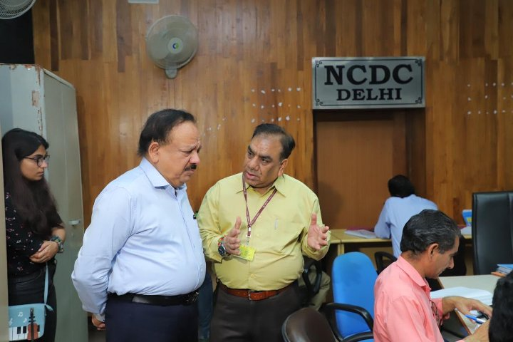 Dr. Harsh Vardhan lauds NCDC for addressing public concerns for COVID-19