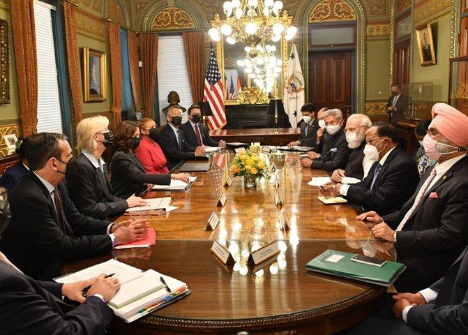 PM Modi and USA VP recommit towards open and inclusive Indo-Pacific region
