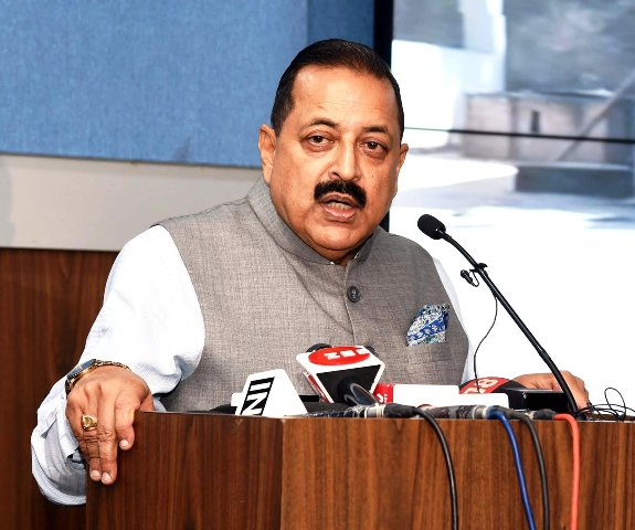 Dr. Jitendra Singh holds review meeting with MDoNER officers, NEDFI on COVID 19