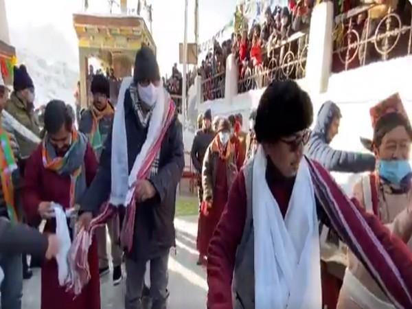 Prahlad Patel visits Kargil to promote tourism, encourage local talent