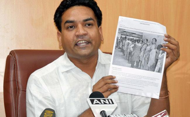 Kapil Mishra files complaint over 'hate campaign' against him