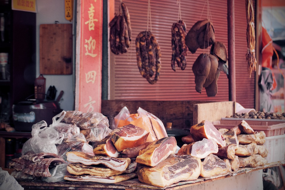 Chinese firm serves up lab-grown pork in world's top meat market