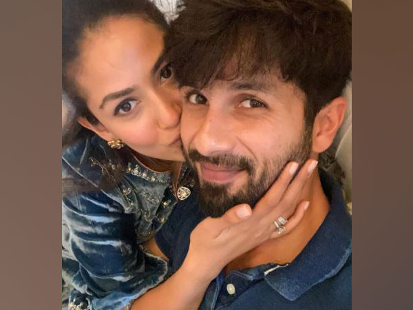 'I like me better when I'm with you': Mira wishes Shahid Kapoor on 40th birthday
