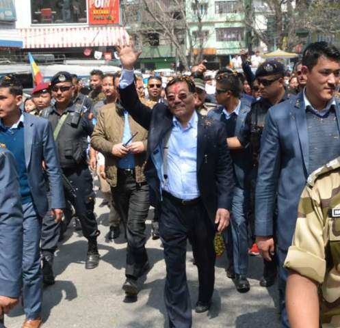 Chamling promises empowerment of urban local bodies, if elected to power