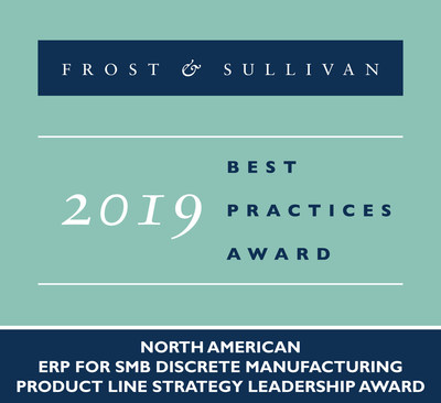 Frost & Sullivan awards ECi Software Solutions for its SMB-centric Suite of ERP Solutions