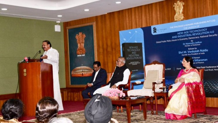 VP Naidu stresses need for using advanced technologies to address challenges
