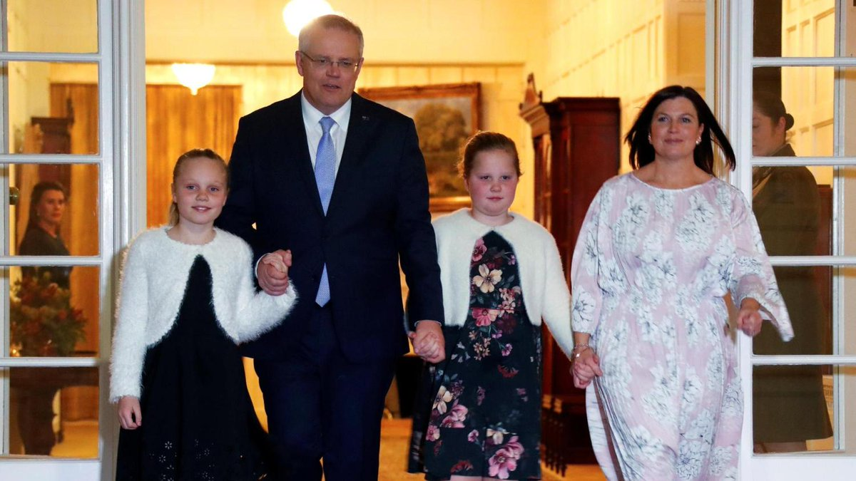 Trump welcomes Australia's newly elected PM Scott Morrison