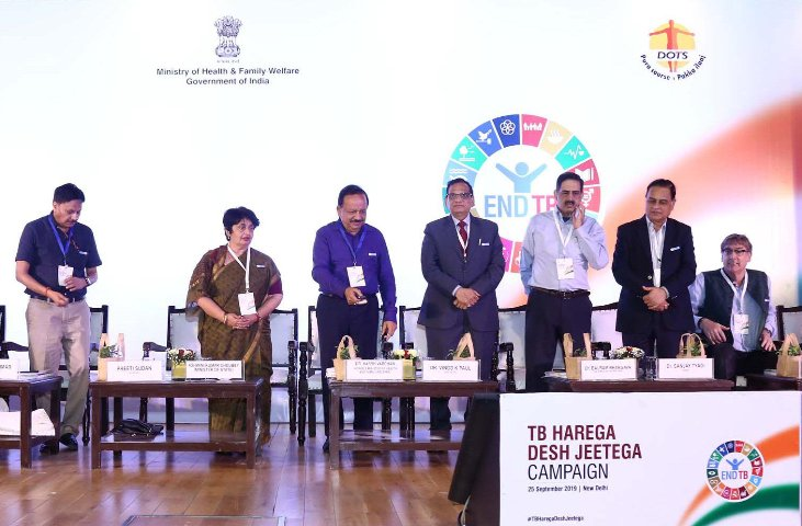 Dr. Harsh Vardhan highlights key features of new TB control campaign