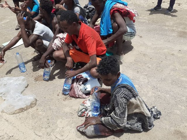 Over 2,000 African migrants return from Yemen assisted by IOM in Djibouti