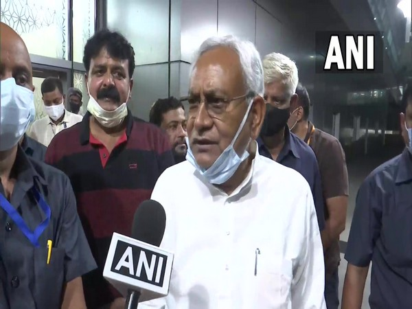 Bihar CM arrives in New Delhi for meeting on Naxal affected states with Amit Shah