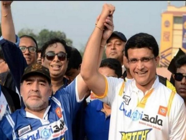 I watched football for you: Ganguly condoles Maradona's demise