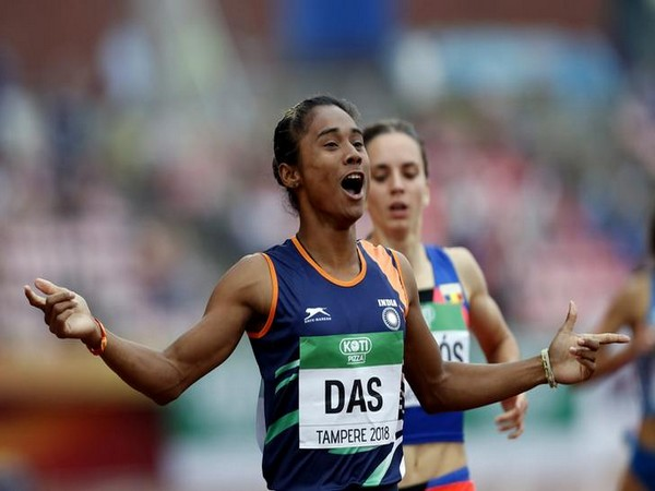 Hima Das donates one month's salary to Assam's COVID-19 relief fund