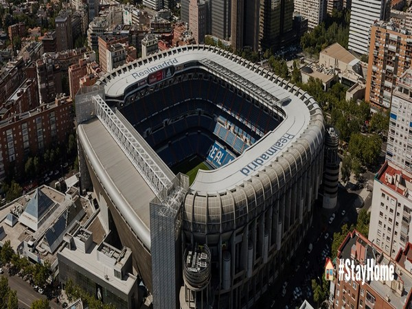 Combating COVID-19: Real Madrid's Santiago Bernabeu to be used as medical supplies storage facility