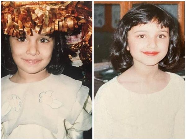 Shraddha, Parineeti share adorable childhood throwback picture