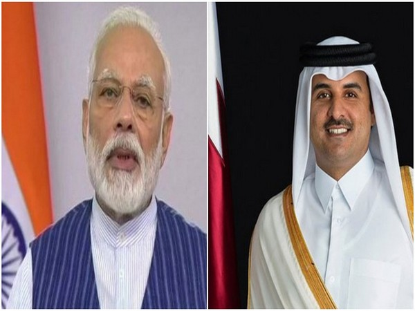 PM Modi hold talks with Amir of Qatar, discuss impact of COVID-19 pandemic