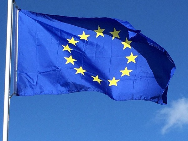 EU stands by Ukraine's side, chief executive says