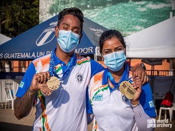 Archery World Cup: Indian archers Atanu Das and Deepika Kumari win gold