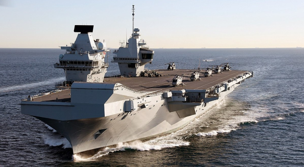 Britain says Queen Elizabeth aircraft carrier to visit Japan, S Korea on maiden deployment