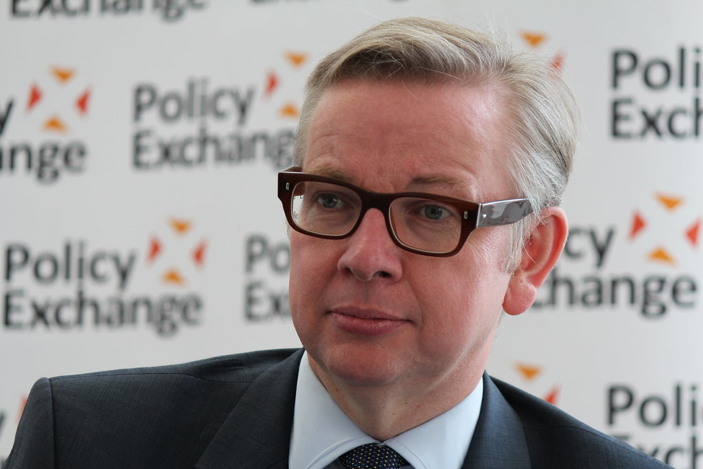 """UK's Gove: I did not hear PM Johnson say """"let the bodies pile high"""""""