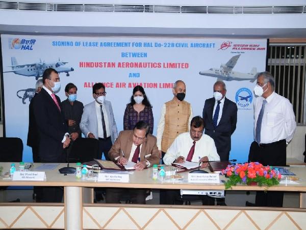 HAL, Air Alliance sign lease agreement to supply 2 Do-228 Aircraft in Arunachal Pradesh