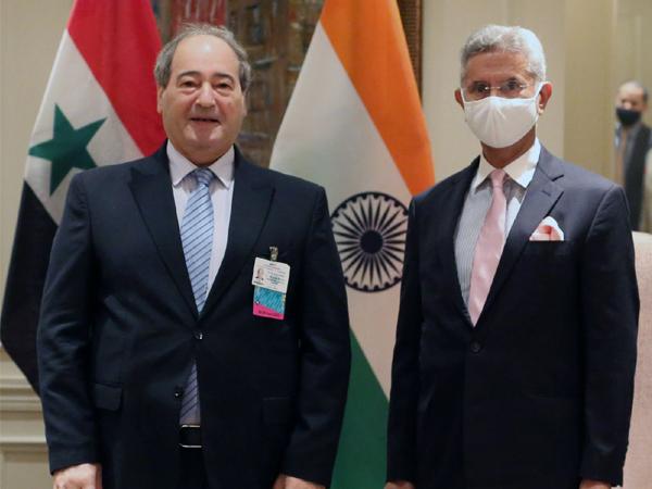 Jaishankar meets Syrian FM, exchanges views on developments in UNSC