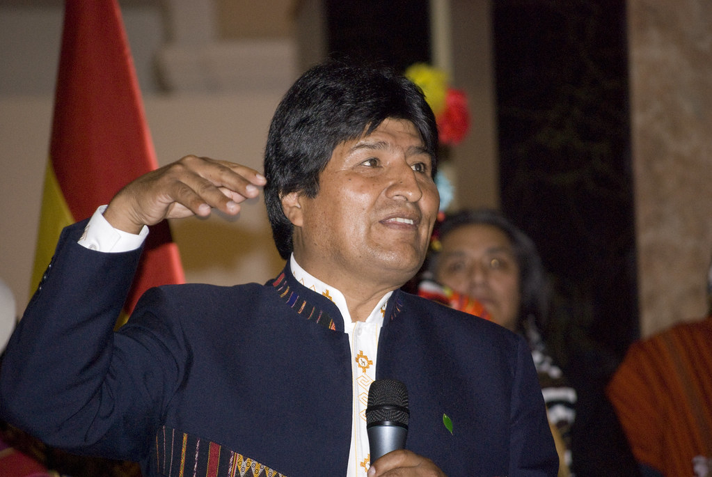 Bolivia's Morales says there is a warrant for his arrest