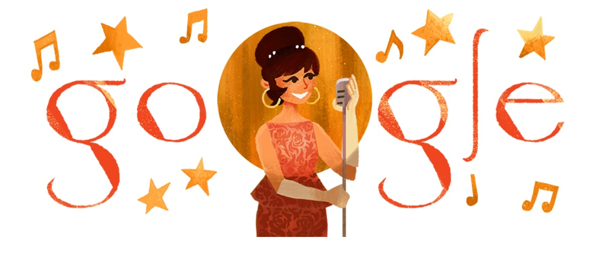 Saloma: Google doodle on Malaysia's First National Songbird, Marilyn Monroe of Asia