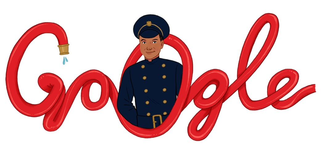 Frank Bailey: Google honors UK's first black firefighter on 95th birthday