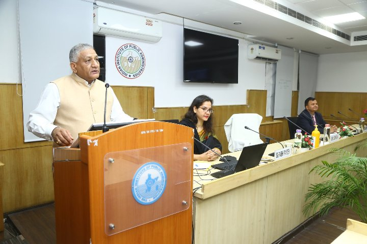 General V.K. Singh emphasizes upon uniformed approach on national security