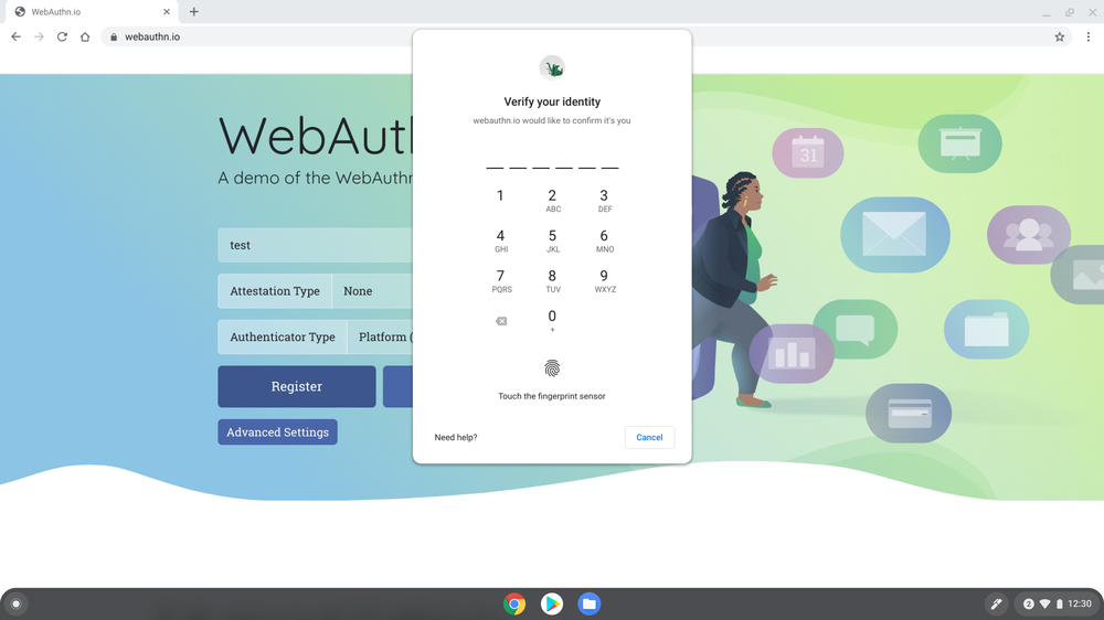 Chrome OS update brings WebAuthn feature for faster, secure web sign-in