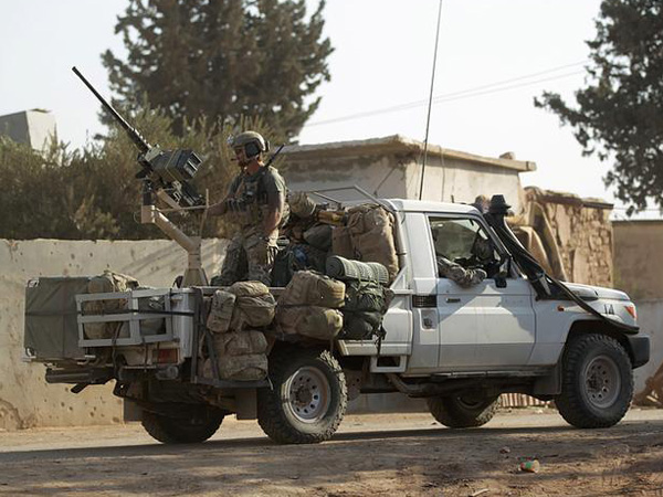 Turkish official says area near army post in Idlib struck by suspected Syrian government forces