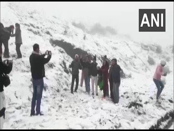 Tiger Hill in Darjeeling receives snowfall