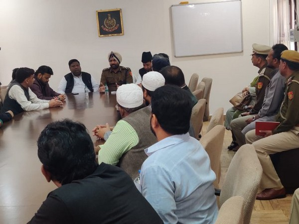 Randhawa holds meeting with Aman Committee over Delhi violence