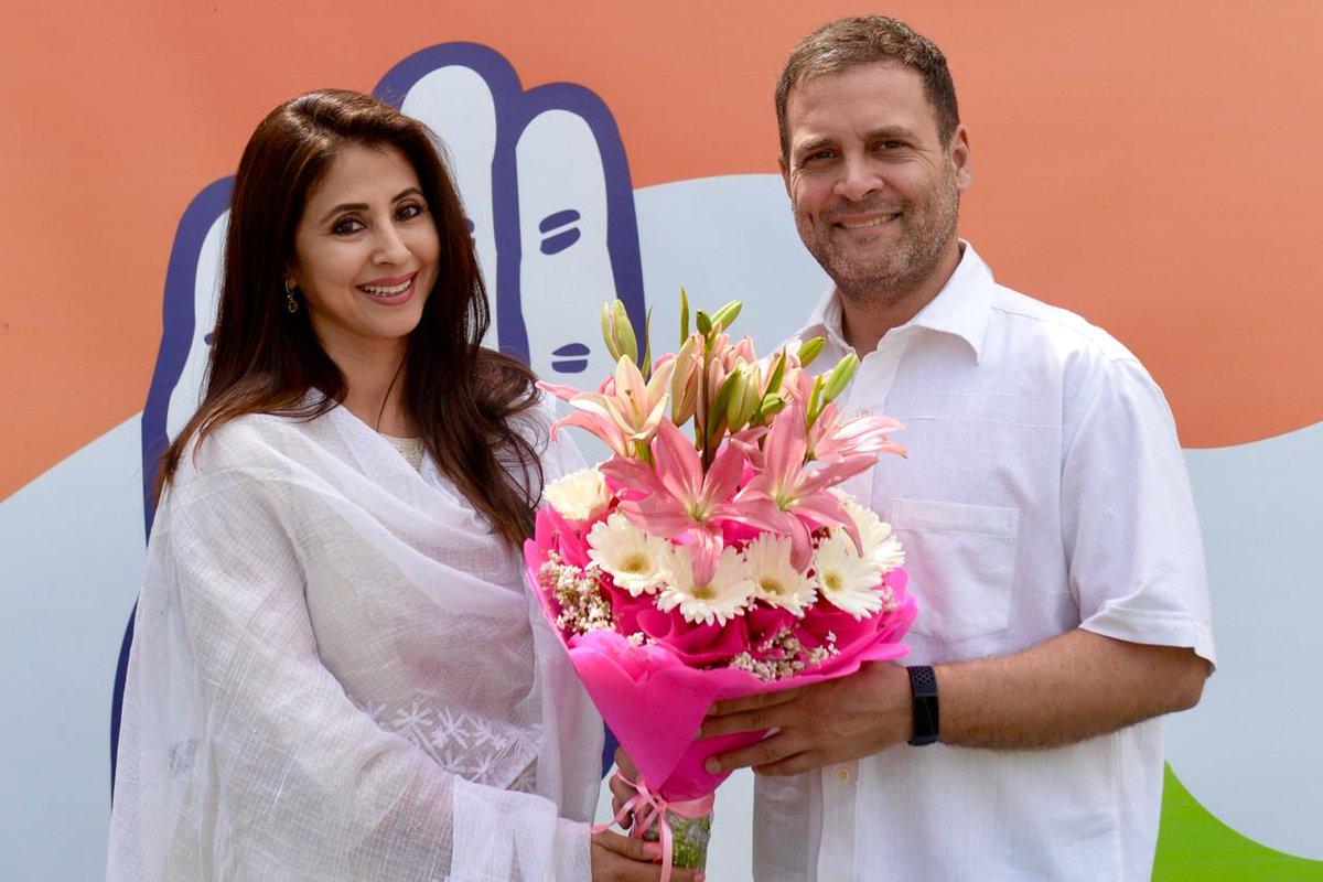 BJP leader mocks Congress decision of inducting 'celebrity' Urmila Matondkar