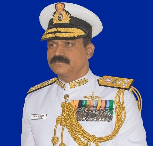 Vice Admiral MA Hampiholi takes over charge as DG Naval Operations on Mar 27