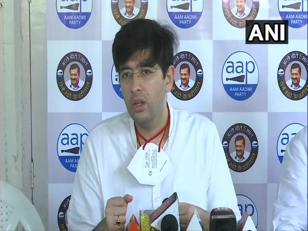 Delhi received 499 MT oxygen on May 8 against 700 MT ordered by SC: Raghav Chadha