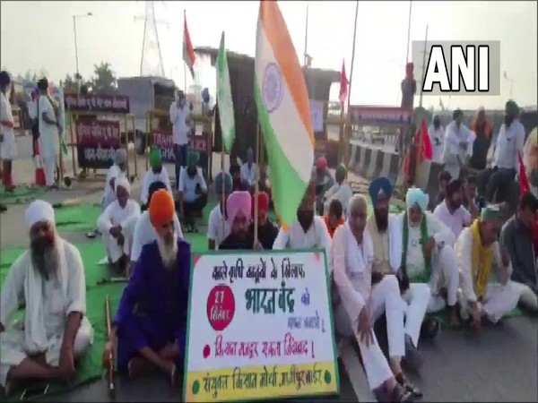 Bharat Bandh against farm laws impacts life in pockets, roads and tracks blocked in some parts