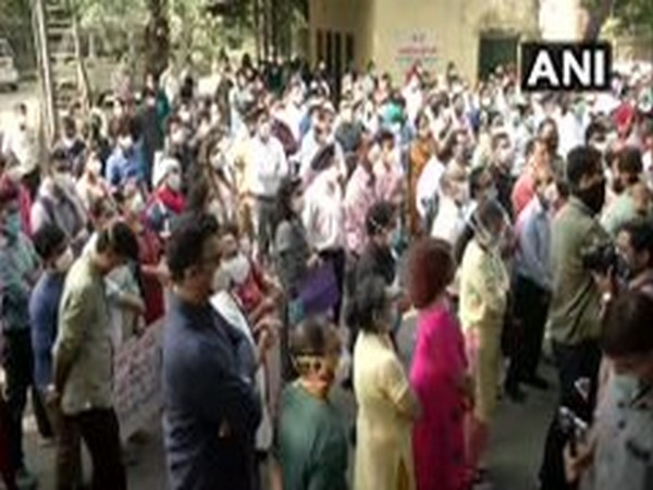 Doctors, health workers at Delhi's Hindu Rao Hospital continue strike over non-payment of salaries
