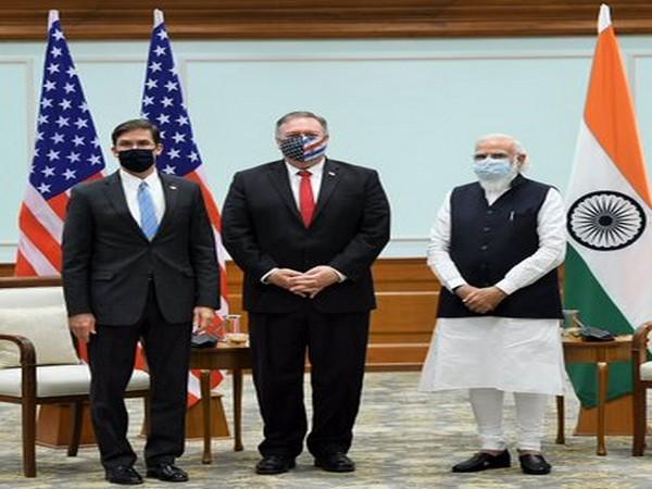 Pompeo, Esper meet PM Modi after 2+2 dialogue