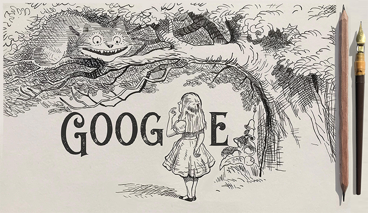 Sir John Tenniel: Google doodle on 19th century's political cartoonist on his 200th birthday