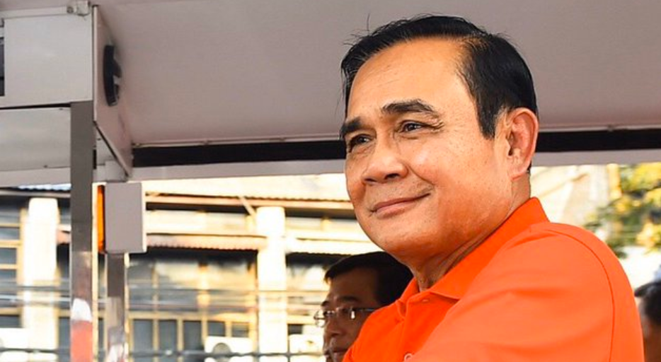 Thailand's prime minister fined for breaking face mask rule