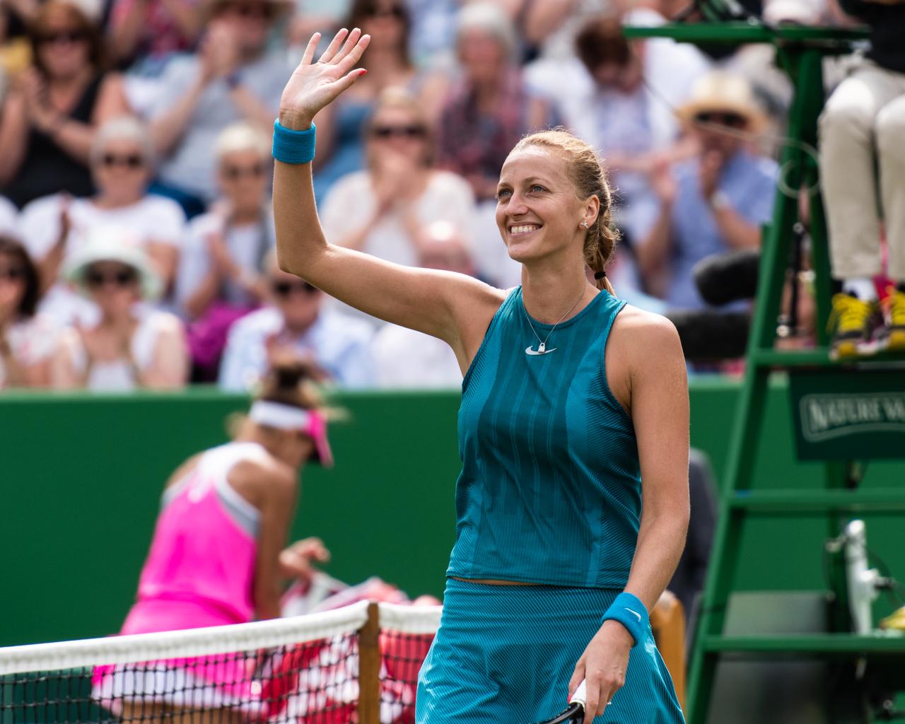 Kvitova's calf injury becomes hurdle for French Open