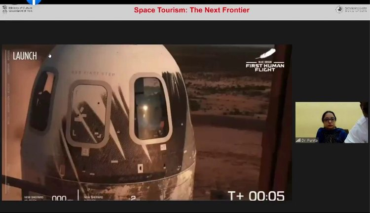 Nehru Science Centre holds online lecture on Space Tourism: The Next Frontier