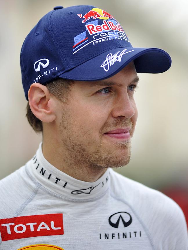 Motor racing-Vettel enjoys sly dig at Verstappen's 'suspicious' speed