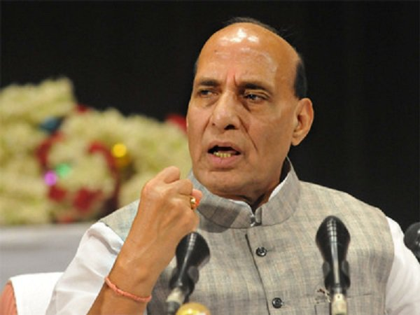 Family of businessman who was brutally stabbed to death meet Home Minister Rajnath Singh