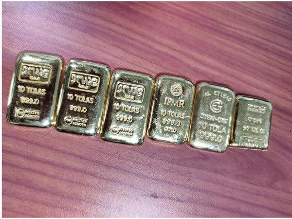 Gold worth Rs 23.96 lakh seized at city airport