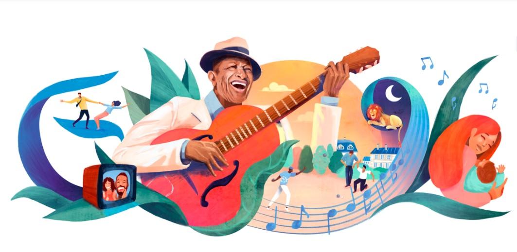 Henri Salvador: Google remembers French comedian, singer, cabaret artist with doodle