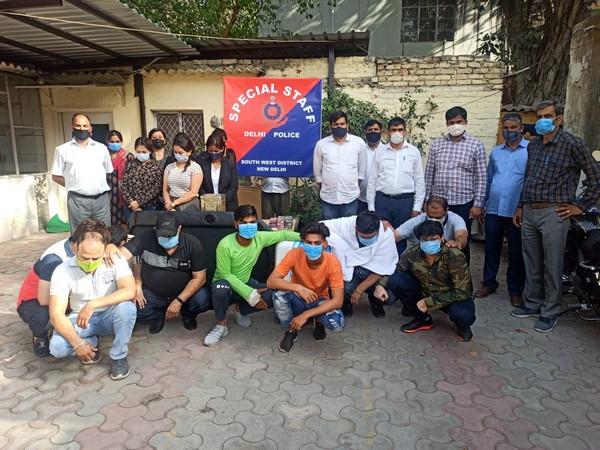 14 gamblers held in Delhi's Mahipalpur, cash seized