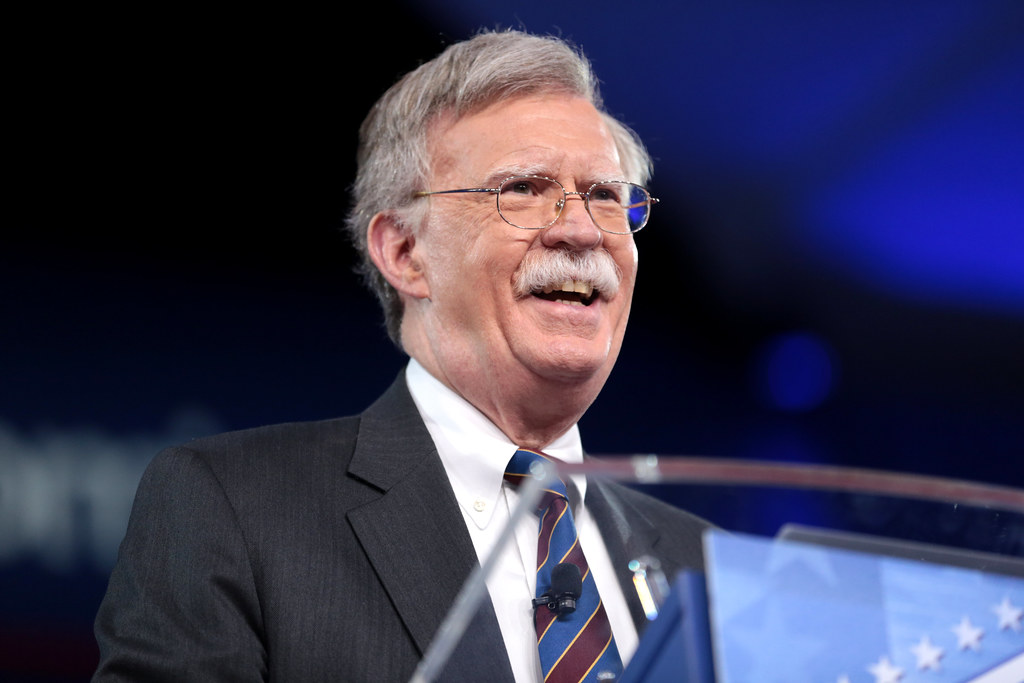 "China behaving in a ""belligerent"" fashion all around its periphery, says former US NSA John Bolton"